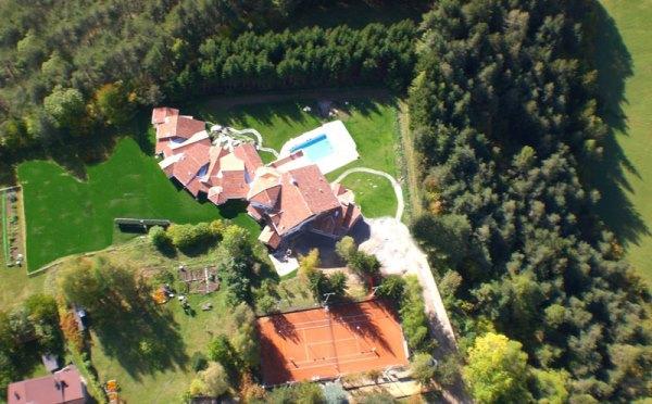 Hotel-Castelir-Panchià-vista-dall'alto