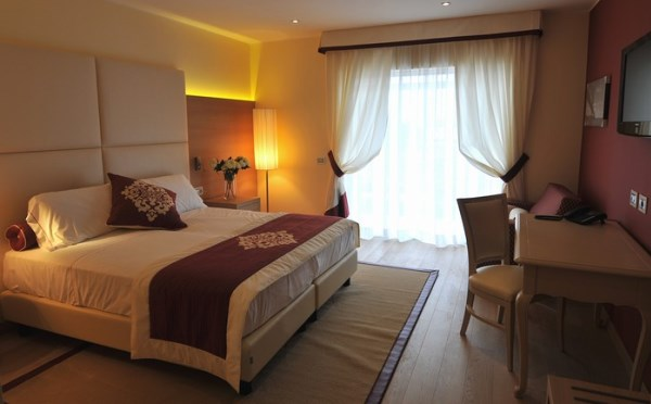 Hotel-Villa-Madruzzo-Cognola-camera-da-letto