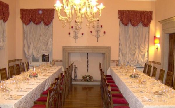 Hotel-Villa-Madruzzo-Cognola-sala-da-pranzo