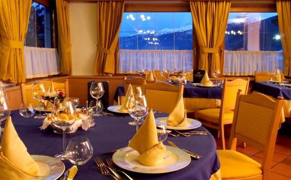 Hotel-la-Roccia-Cavalese-ristorante
